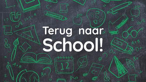 Begin van het schooljaar